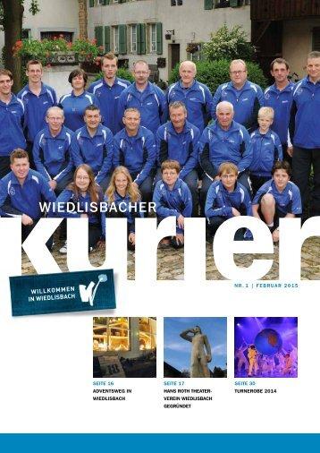 Wiedlisbacher Kurier 1/2015
