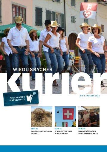 Wiedlisbacher Kurier 3/2015