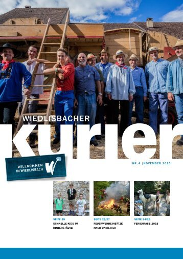 Wiedlisbacher Kurier 4/2015