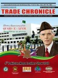 Trade Chronicle NOVEMBER - DECEMBER 17