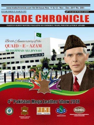 Trade Chronicle NOVEMBER - DECEMBER 17