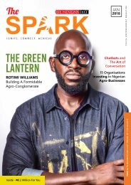The Spark Magazine (Jan 2018)