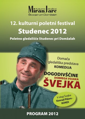 Studenec 2012