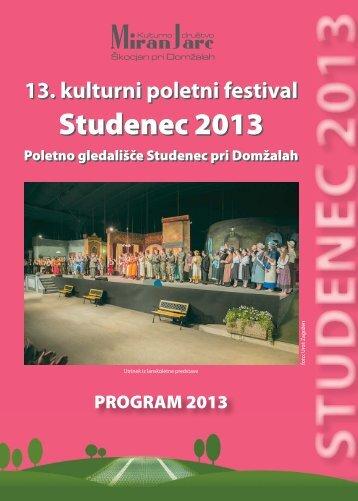 Studenec 2013