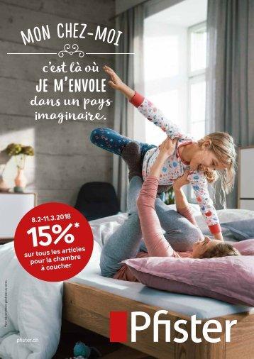 Pfister Catalogue Bien-Être 2018