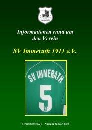SVI Vereinsheft 24