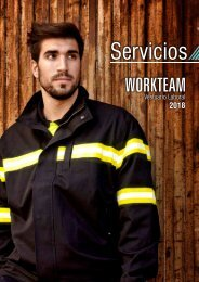 Ropa laboral servicios 2018