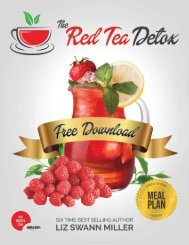 Red Tea Detox Recipe to Lose Weight Book PDF Download