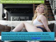 Outstanding Chennai Escorts Satisfy your Physical Needs