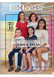 #624 Catálogo Cklass Coleccion Kids primavera verano 2018