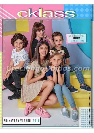 #624 Catálogo Cklass Kids & teens Ropa primavera verano 2018