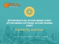 Bitcoin MLM Plan, Bitcoin Mining Script