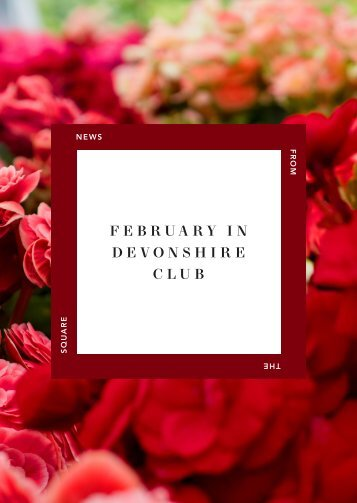 February in Devonshire Club