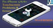 Call us @ 0557503724 for iPhone Touch issues in Dubai