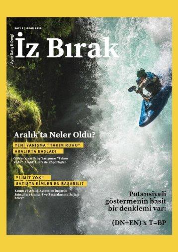 z Bırak Satış Dergisi-Ocak Sayısı