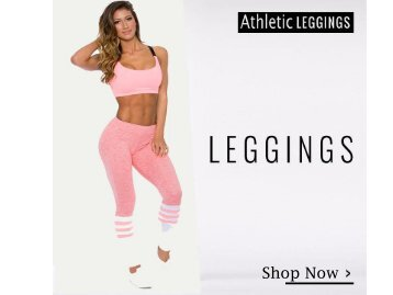 Buy Women's Athletic Leggings Online | Best Deals