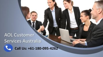 AOL Customer Service Number Australia +61-180-095-4262