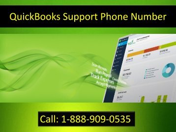 QuickBooks Support Phone Number 1-888-909-0535