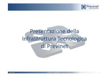 L01-Corso Presentazione Infrastruttura Tecnologica