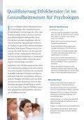 Qualifizierung Ethikberater/in im Gesundheitswesen - Seite 2