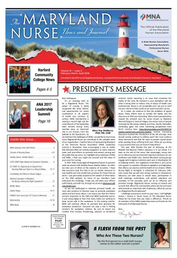 The Maryland Nurse – February 2018