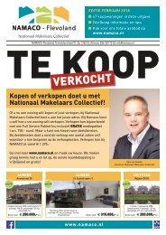 NAMACO Flevoland Woonmagazine, uitgave februari 2018