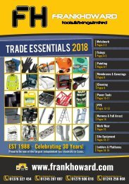 FH A5 Trade Essentials 2018 Catalogue