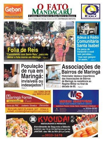 O FATO MANDACARU - FEV 2018  - NÚMERO 2