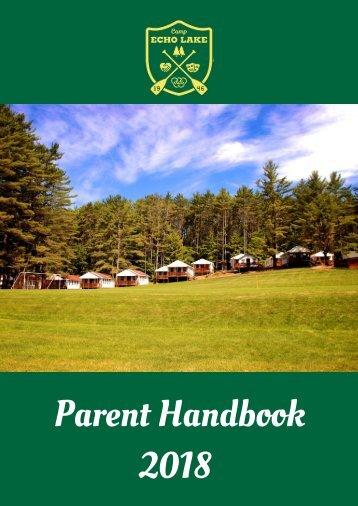 2018 Parent Handbook