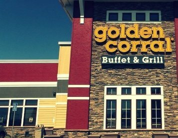 Golden Corral is at  5 minutes drive to the north of cosmetic dentist Temecula Ridge Dentistry