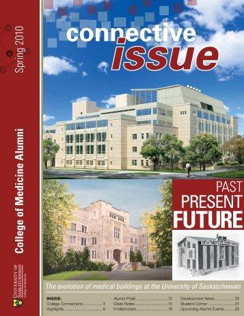 connective - College of Medicine - University of Saskatchewan