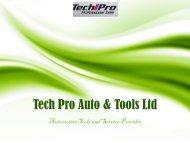 Automotive Diagnostic Tools Online