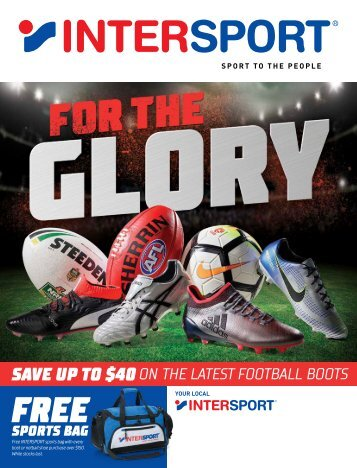 Intersport Football Catalogue