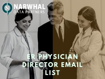ER Physician Director Email List (1)