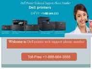 Dial+1-888-664-3555 Dell printer technical support phone number