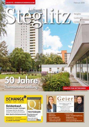 Gazette Steglitz Nr. 2/2018