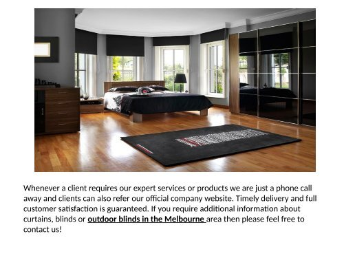 Curtains And Blinds Melbourne