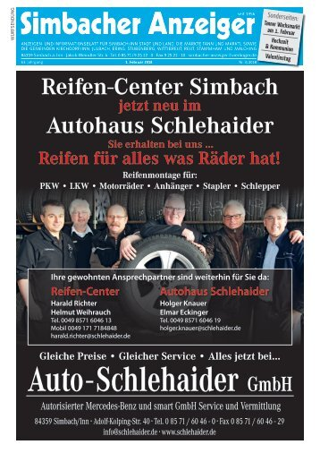 01.02.2018 Simbacher Anzeiger