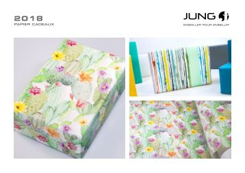 JUNG Collection papiers cadeaux 2018