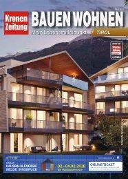 Bauen Wohnen Tirol 2018-01-30