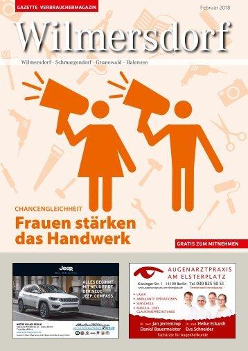 Gazette Wilmersdorf Nr. 2/2018
