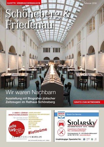 Gazette Schoeneberg & Friedenau Nr. 2/2018