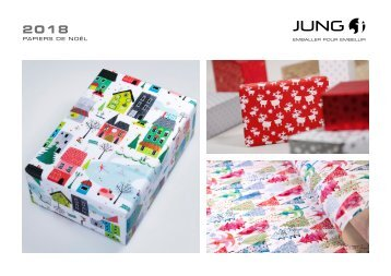JUNG Collection papiers de Noël 2018