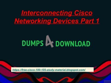 2018 100-105 Real Exam Questions - Cisco 100-105 Real Braindumps Dumps4Download.co.in