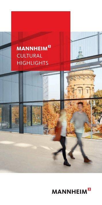 Mannheim Cultural Highlights 2018