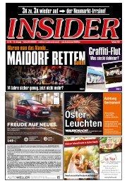 INSIDER Osnabrück // Februar 2018 // No. 415