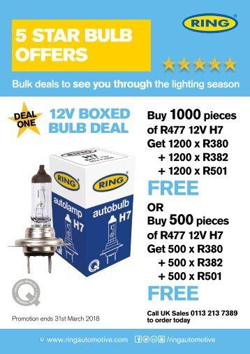 CAT866 Five Star Bulb Promo Sell-in 4pp A4