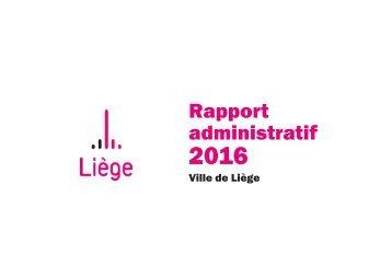 Rapport administratif 2016