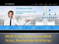MLM Script, Open Source MLM Script,