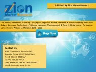 Low Intensity Sweeteners Market